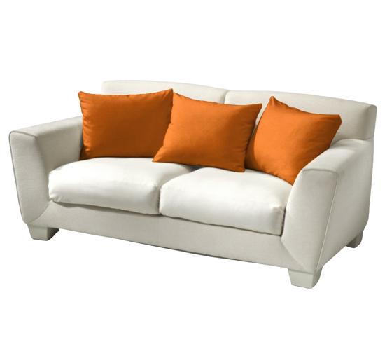Obrázek z Povlak bavlna oranžová 40x40 cm