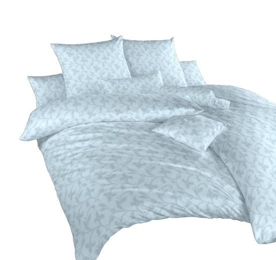 Obrázek z Povlečení damašek Rokoko modré 240x200, 2x70x90 cm