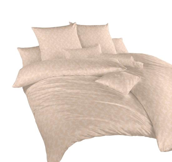 Obrázek z Povlečení damašek Rokoko béžové 70x90 cm povlak
