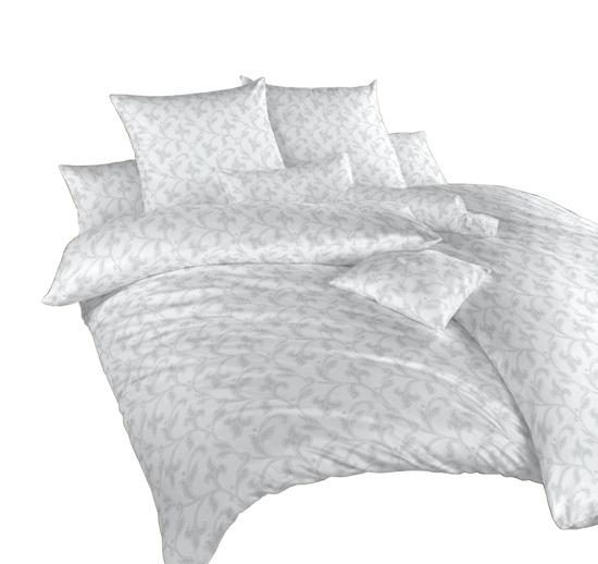 Obrázek z Povlečení damašek Rokoko šedé 140x220 cm povlak