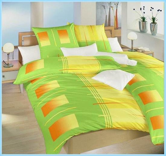 Obrázek z Povlečení bavlna Rolety zelené 140x200, 70x90 cm II.jakost
