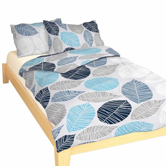 Obrázek z Povlečení bavlna Boris modrý 140x200, 70x90 cm II.jakost