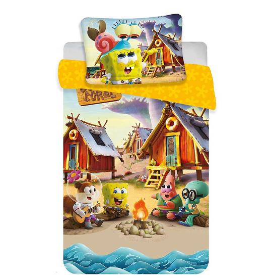 Obrázek z Disney povlečení do postýlky Sponge Bob baby 100x135, 40x60 cm