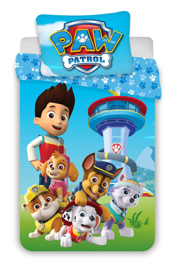 Obrázek z Disney povlečení do postýlky Paw Patrol 1015 baby 100x135, 40x60 cm