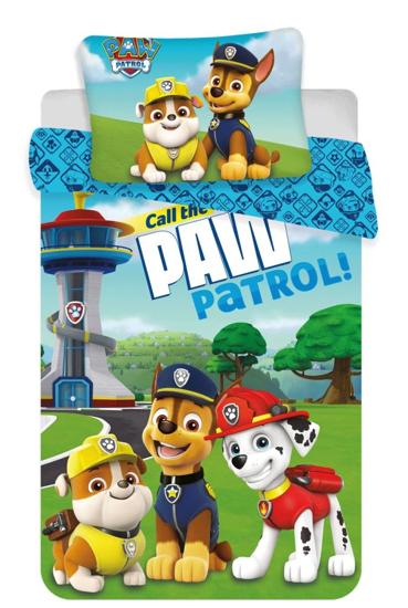 Obrázek z Disney povlečení do postýlky Paw Patrol 121 baby 100x135, 60x40 cm