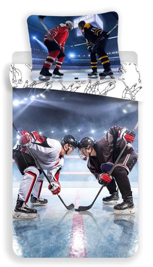 Obrázek z Povlečení fototisk Hokej 140x200, 70x90 cm