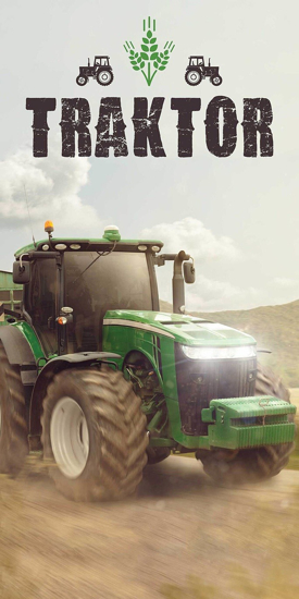 Obrázek z Osuška Traktor green 70x140 cm
