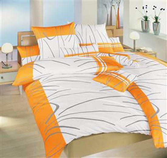 Obrázek z Povlečení bavlna Tenerife oranžové