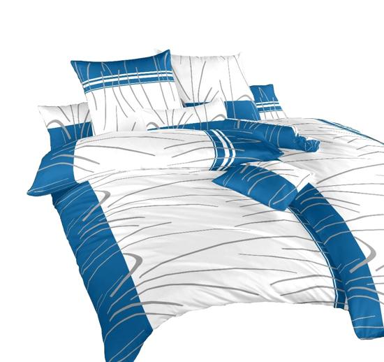 Obrázek z Povlečení bavlna Tenerife modré 240x220 cm povlak