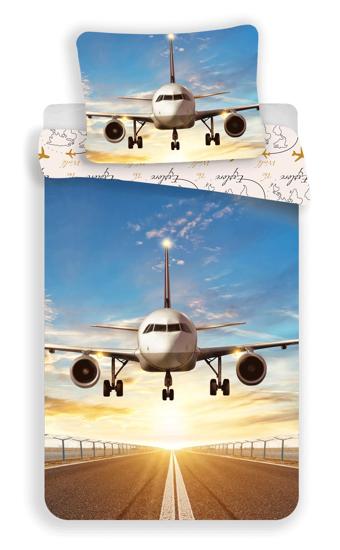 """Obrázek z Povlečení fototisk Letadlo """"Explore the world"""" 140x200, 70x90 cm"""