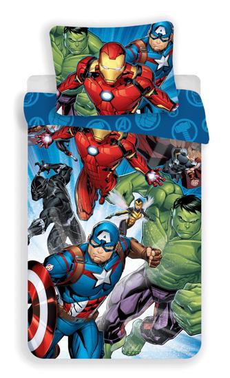"""Obrázek z Povlečení Avengers """"Brands 02"""" 140x200, 70x90 cm"""