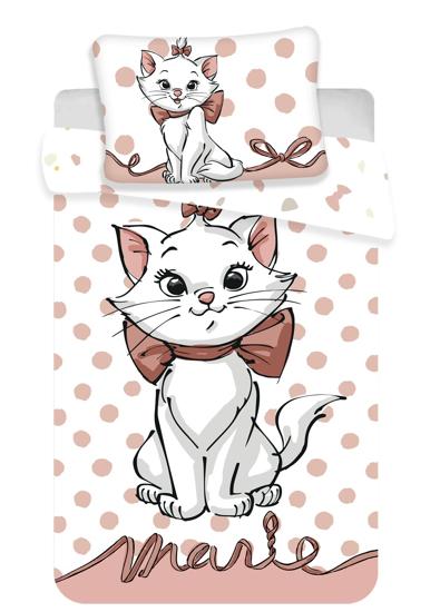 """Obrázek z Disney povlečení do postýlky Marie Cat """"Dots 02"""" baby 100x135, 60x40 cm"""