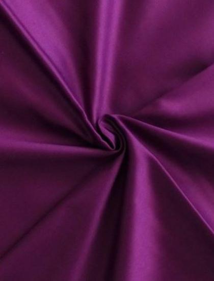 Obrázek z Povlečení satén fialová 140x200, 70x90 cm