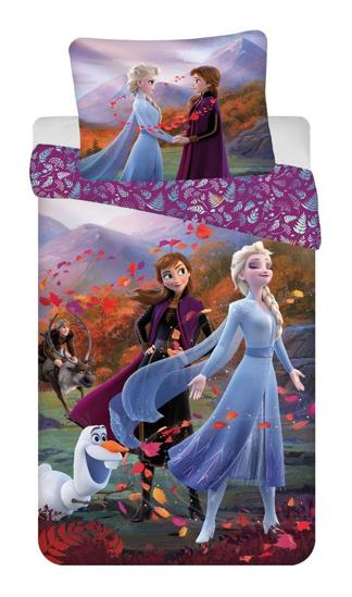 """Obrázek z Povlečení Frozen 2 """"Wind"""" 140x200, 70x90 cm"""