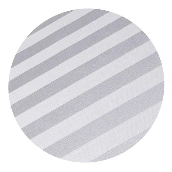 Obrázek z Povlečení atlas grádl šedý proužek 2,5 cm 140x200, 70x90 cm