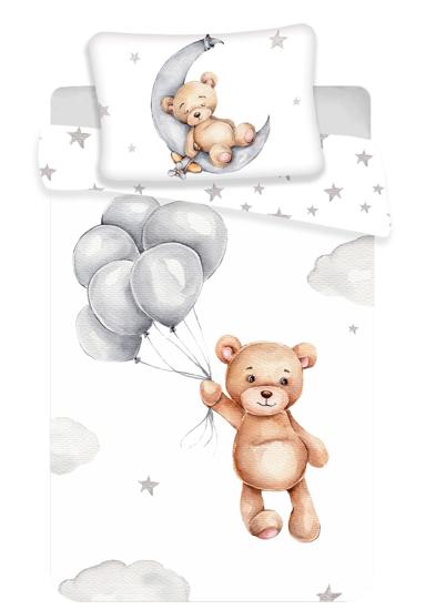 Obrázek z Disney povlečení do postýlky Medvídek baby 100x135, 40x60 cm