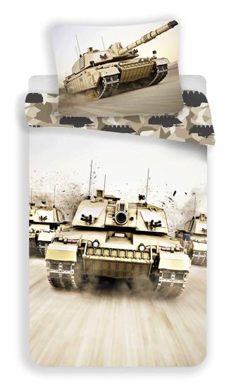 Obrázek z Povlečení fototisk Tank 140x200, 70x90 cm