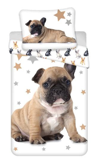 Obrázek z Povlečení fototisk Bulldog 02 140x200, 70x90 cm