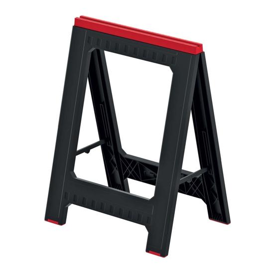 Obrázek z Podstavec stavební (koza) TITAN STAND černý 580x50x793mm