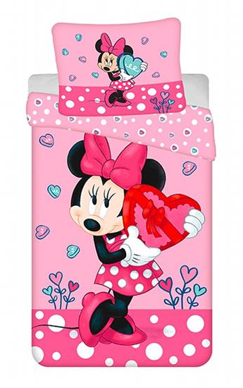 """Obrázek z Povlečení Minnie """"Hearts 03"""" 140x200, 70x90 cm"""