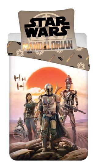 """Obrázek z Povlečení bavlna Star Wars """"Mandalorian"""" 140x200, 70x90 cm"""
