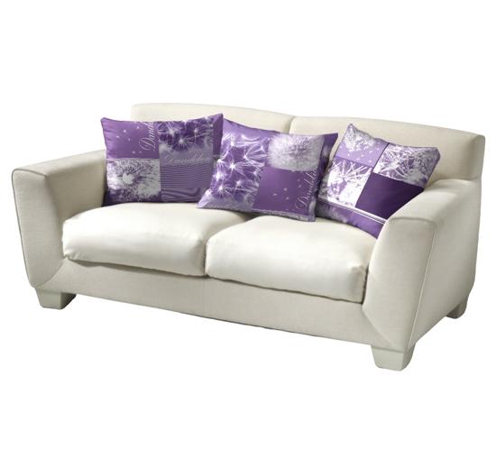 Obrázek z Povlečení bavlna Pampelišky 3D fialové 40x40 cm povlak